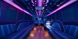 Inside party bus 1